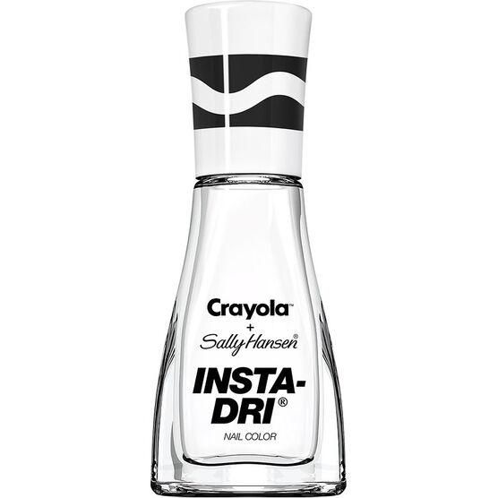 Sally Hansen Insta-Dri + Crayola Nail Colour - White