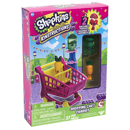 Shopkins Kinstructions - Shopping Cart