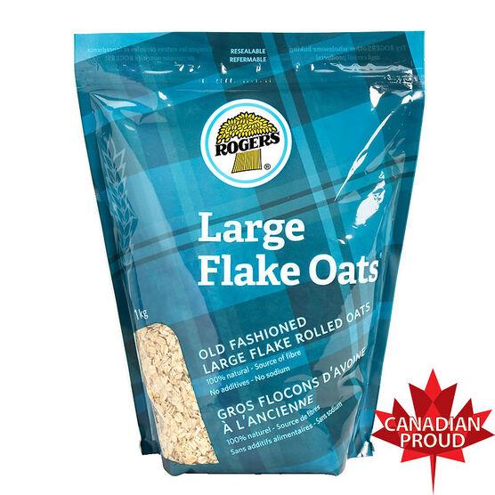 Rogers Large Flake Oats - 1 kg