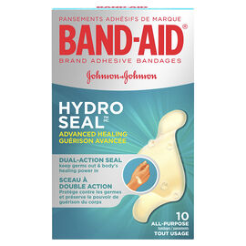 Band-Aid Hydro Seal Advanced Healing All-Purpose Bandages - 10's
