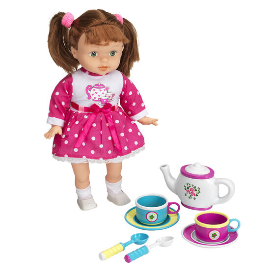 I Sing I'm a Little Teapot Doll - 13in