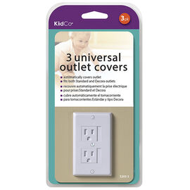 KidCo Universal Outlet Cover - 3 pack - S205-3
