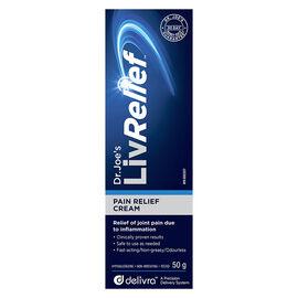 Dr.Joe's LivRelief Pain Relief Cream - 50g