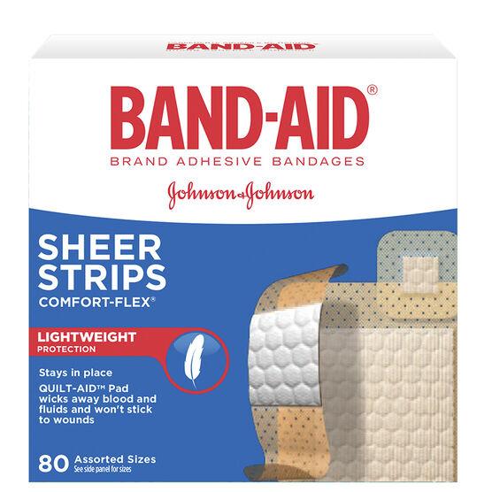 J&J Plastic Band-Aids - Assorted - 80's