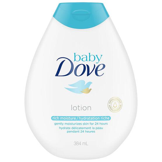 Baby Dove Rich Moisture Lotion - 384ml