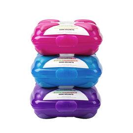 Boomerang Sandwich Box - Assorted - 400ml