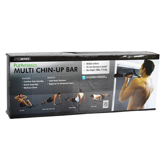 PurAthletics Chin-Up Bar - Black - WTE10190