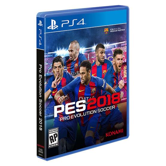 PS4 Pro Evolution Soccer 18