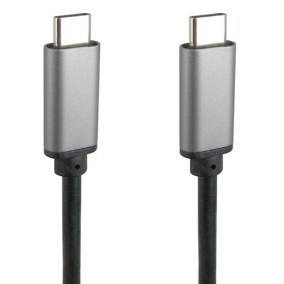 IQ USB Type C to Type C - Black - IQCC1M
