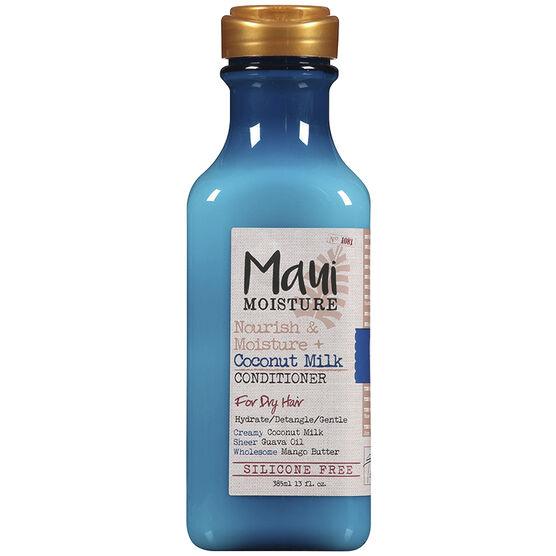 Maui Moisture Nourish & Moisture + Coconut Milk Conditioner - 385ml