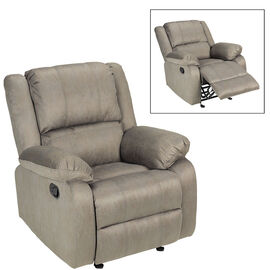 London Drugs Microsuede Rocker Recliner