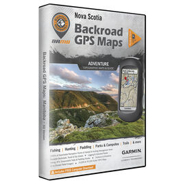 Backroad GPS Maps - Nova Scotia - 02270