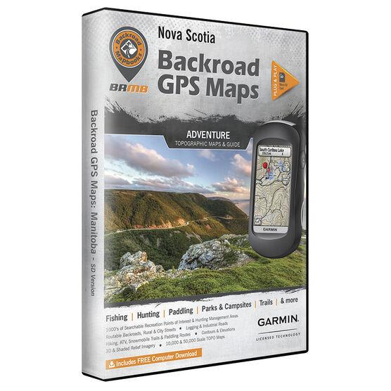 Backroad GPS Maps - Nova Scotia - 02270