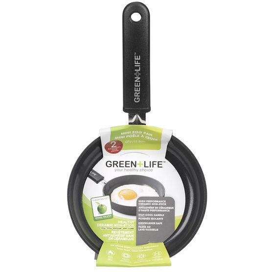 Green Life Soft Grip Diamond Fry Pan - 5in