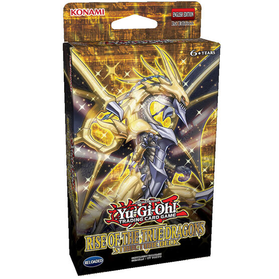 Yu-Gi-Oh Trading Card Game - Rise of the True Dragons Structure Deck