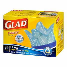 Glad Blue Bags - 30's