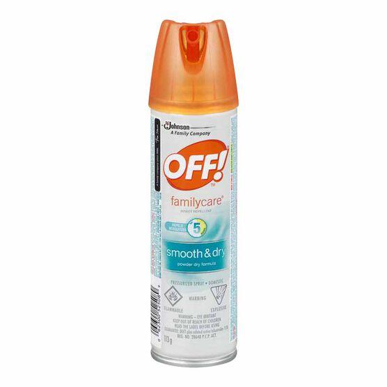 Off Smooth & Dry Aerosol - 113g