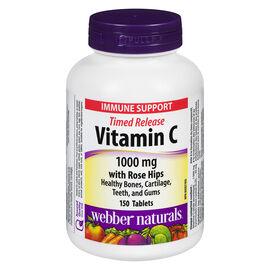 Webber Naturals Vitamin C Timed Release - 1000mg - 150's