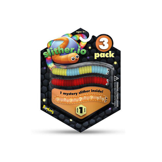 Bendable Slithers - 3 pack