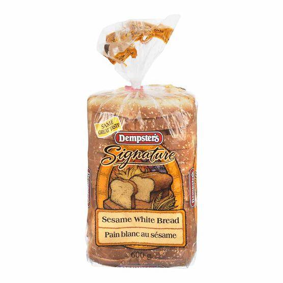 Dempster's Signature Sesame White Bread - 600g