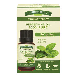 Nature's Truth Aromatherapy 100% Pure Essential Oil - Peppermint - 15ml