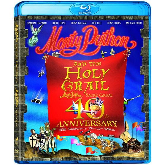 Monty Python and the Holy Grail - 40th Anniversary Edition - Blu-ray