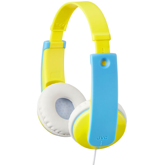 JVC Kids On-Ear Headphone - Yellow - HAKD7Y