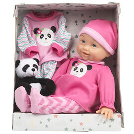Baby Doll with Plush Animal - Assorted