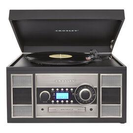 Crosley Memory Master Nostalgia Turntable System - Black - CR2413ABK