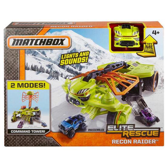 Matchbox Rescue Recon Rider