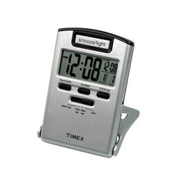 Timex Travel Alarm Clock - Grey - 3475T
