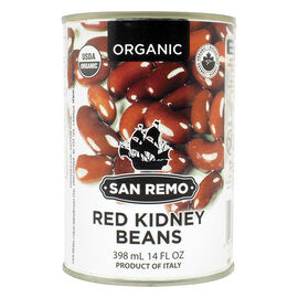 San Remo Organic Red Kidney Beans - 398ml