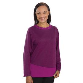 Silvert's Women's Gromit Decorative Reverse Fleece Sweater - Small - XL