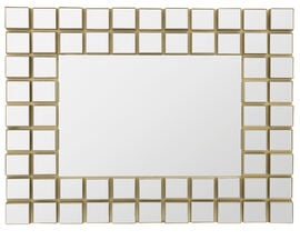London Drugs Wall Mirror - Cubic Squares