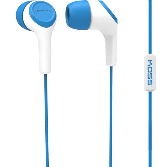 Koss In-Ear Headphone - Blue - KEB15IB