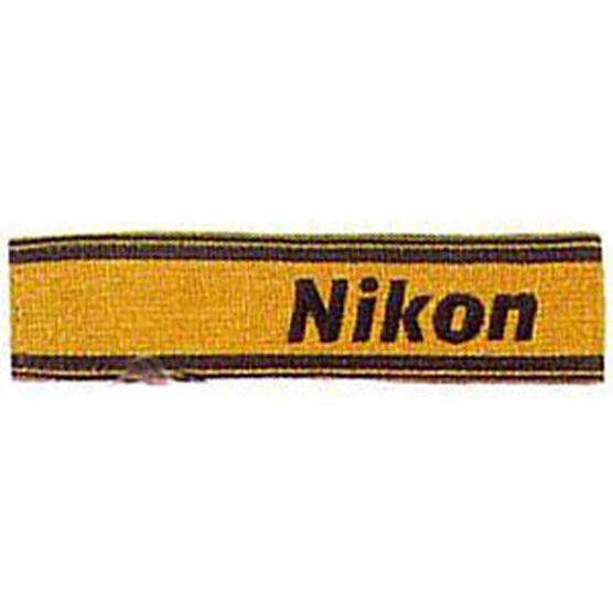 Nikon AN6Y Wide Nylon Neck Strap - Yellow