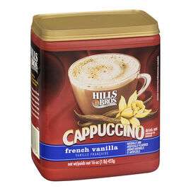 Hills Bros Cappuccino Drink Mix - French Vanilla - 453g