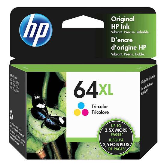 HP 64XL High Capacity Tri-Colour Printer Ink Cartridge