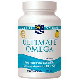 Nordic Naturals Ultimate Omega Soft Gels - 60's