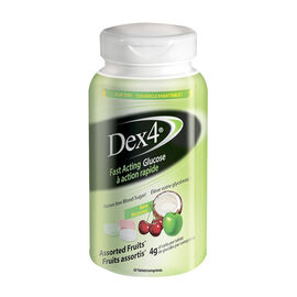 Dex4 Glucose Tablets - Assorted Fruits - 50's