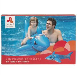 Fun Shark Rider - 71 x 38.5in