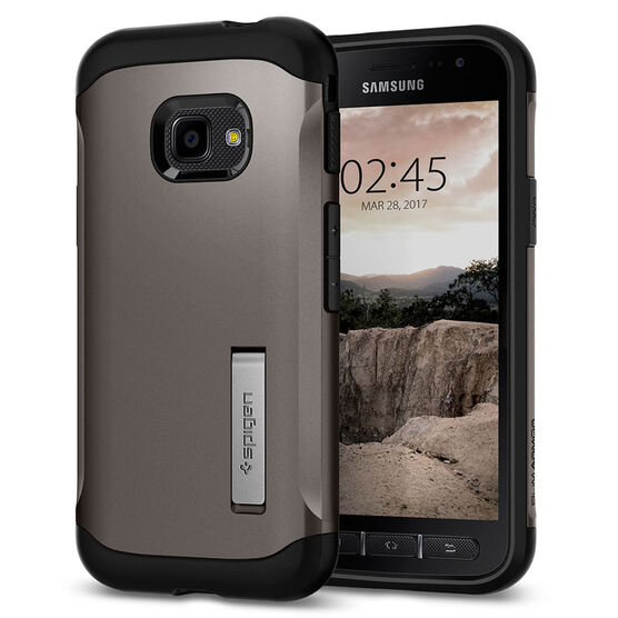 Spigen Slim Armor Case for Samsung Galaxy X Cover 4 - Gunmetal - SGP585CS21819