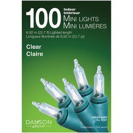Danson Indoor Mini Light Set - 100's - Clear - X77017MOD
