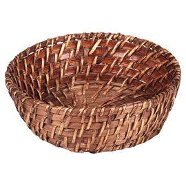London Drugs Lombok Round Basket - Dark Honey - Small