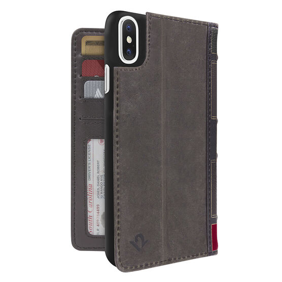 Twelve South BookBook Case for iPhone X - Brown - TS121734