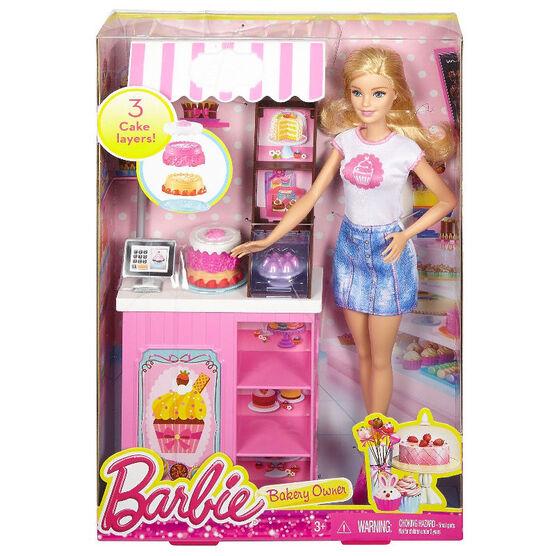 Barbie Bakery Owner Doll