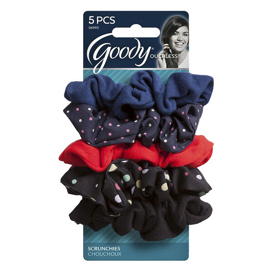 Goody Ouchless Scrunchie - Polka Dot - 8's