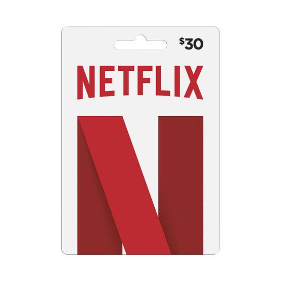 Netflix Fastcard - $30