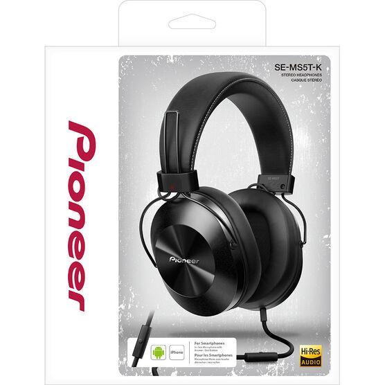 Pioneer Over-Ear High Resolution Headphones - Black - SEMS5TK