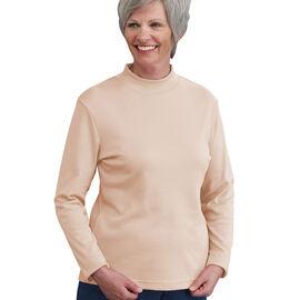 Silvert's Women's Long Sleeve Mock Turtle Neck